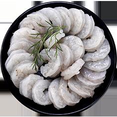 珍珠生虾仁